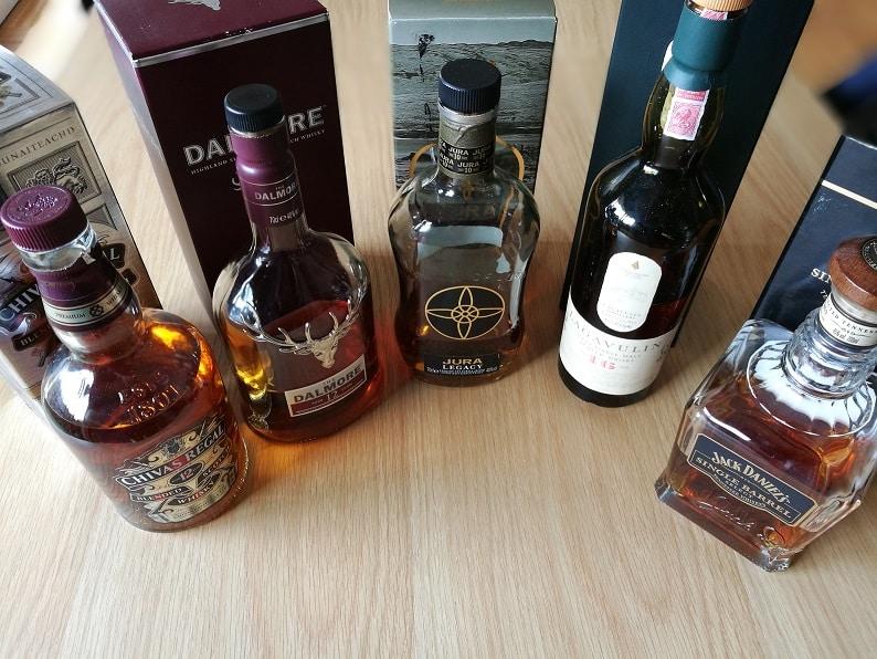 Avis : Différents types de whisky