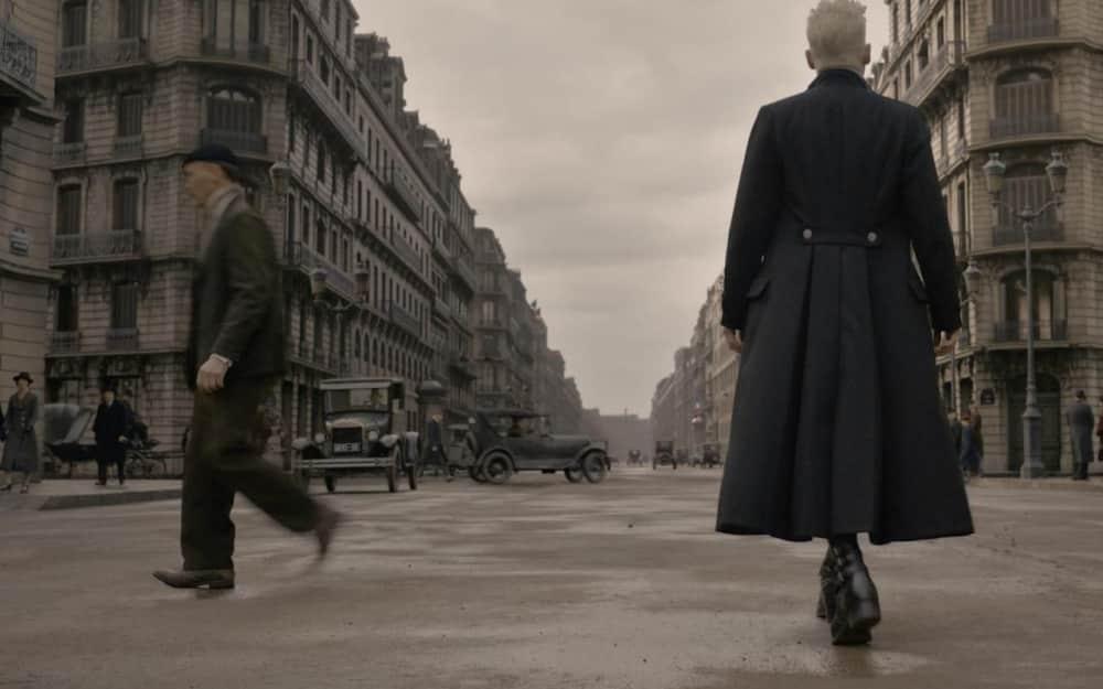Une scène des Animaux fantastiques à Paris