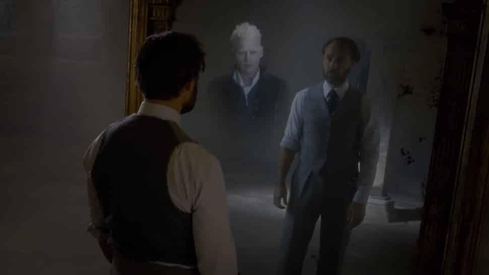 Albus devant le miroir du Rised