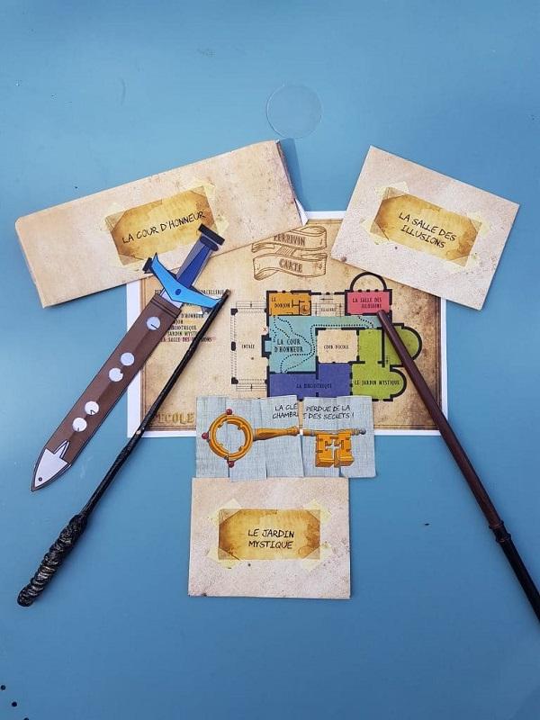 Le kit ecole ensorcelée pour les fans d'Harry Potter