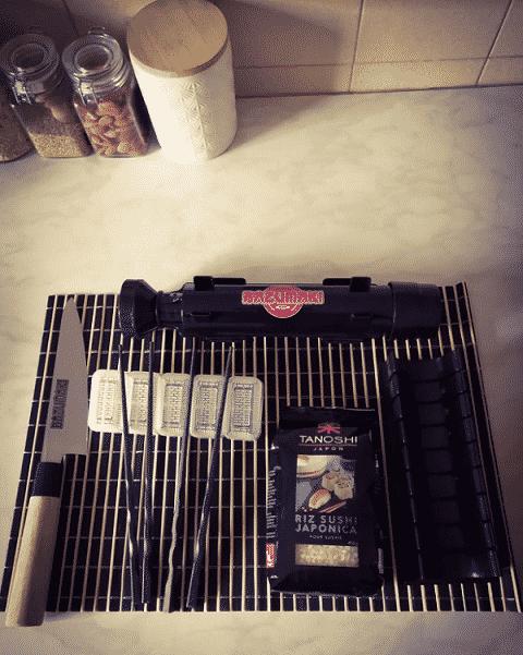 Kit sushis à la maison - Bazumaki