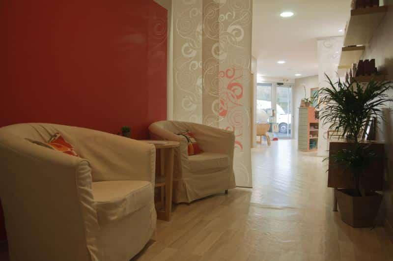Le salon de transition - Institut La Douce Heure