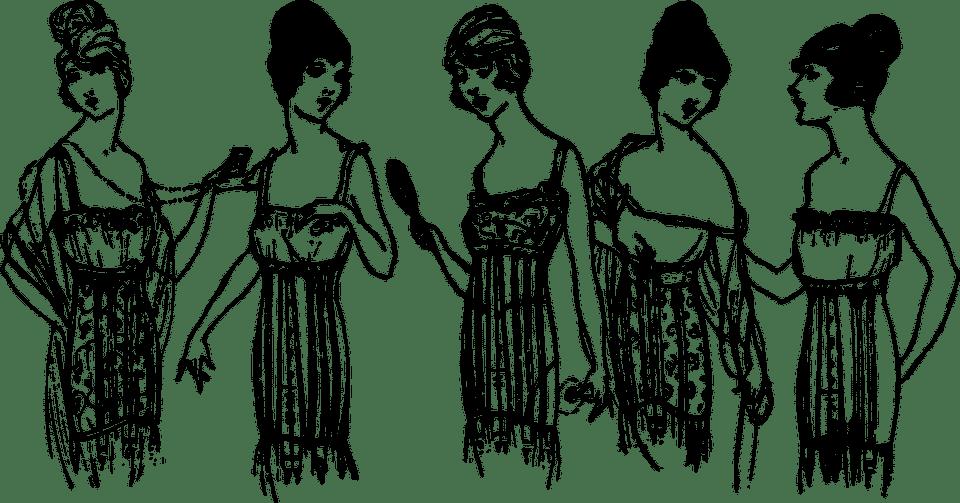 Le corset, la lingerie de retour à la mode