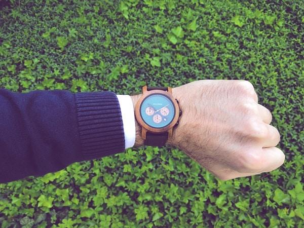 Ma nouvelle montre au poignet