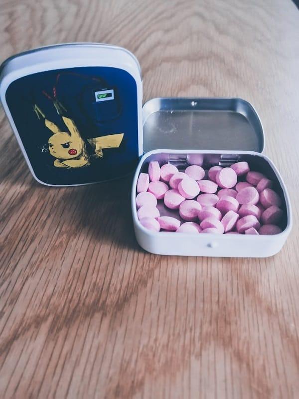 Boite de bonbons pumpling pikachu