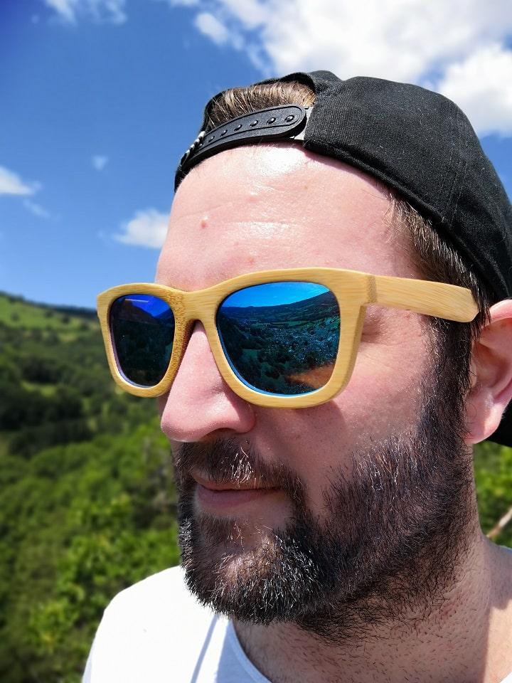Verres polarisées lunettes de soleil Woodstock