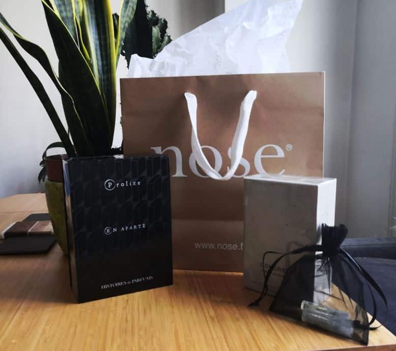 Les parfums créés chez Nose Paris