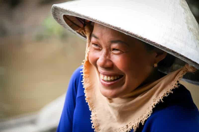 La gentillesse des Vetnamiens