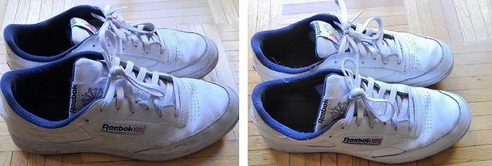 Comment nettoyer ses sneakers blanches?