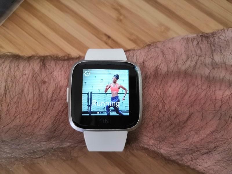 Fitbit Versa edition Lite suivre ses activités sportives