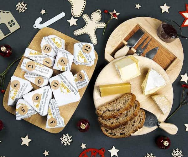 Calendrier de l'avent 100% fromage