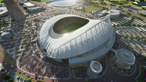 Stade Qatar coupe du monde Football