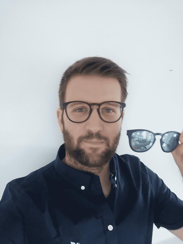 déposer le clip lunettes Afflelou MAGIC