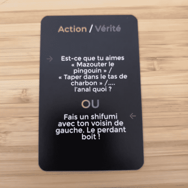 Action / Vérité façon JUDUKU vice ultime