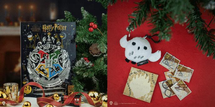 24 cases à ouvrir dans le calendrier Harry Potter de l'Avent