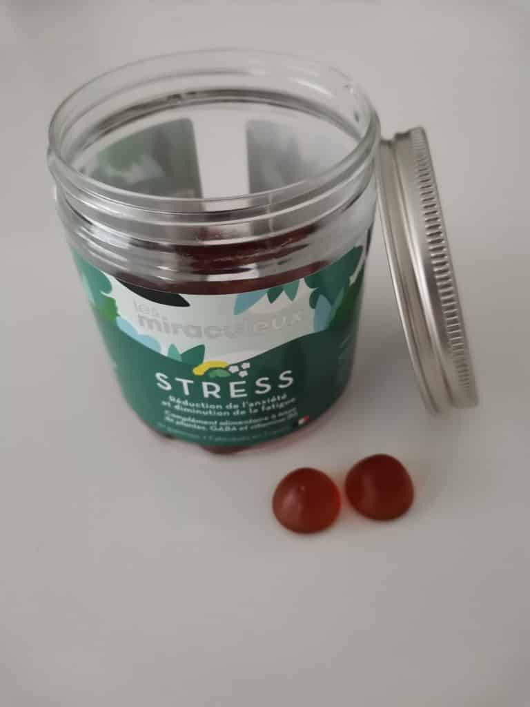 Miraculeux gummies anti stress